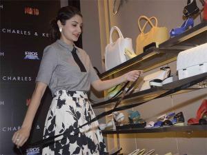 Pix: Anushka Sharma Launches NH10 Charles & Keith Collection