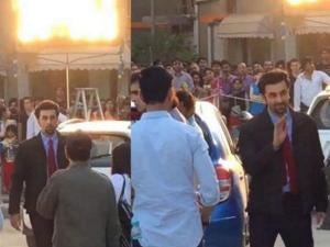 Pics: Ranbir Kapoor Doing Tamasha On Streets Of Delhi