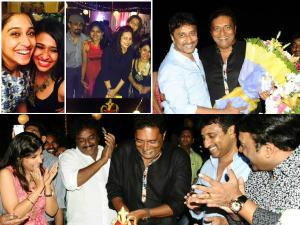 Prakash Raj Birthday Pics: Sreenu Vaitla Patches Up
