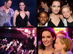Angelina Jolie Makes First Appearance Post Second Surgery