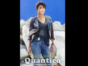 Pic: Priyanka Chopra's Rough & Tough Cop Look In Quantico