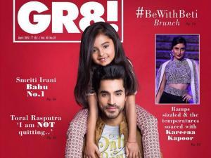 Gautam Gulati Makes It To GR8 TV Mag Cover!