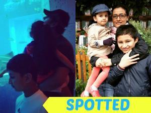 VACATION TIME: Mahesh Babu Enjoying With His Family