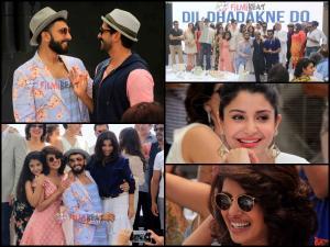 Dil Dhadakne Do Music Brunch Pics:Ranveer-Farhan's Dance Off