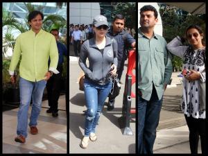 Bollywood Celebs Spotted: Bipasha Basu, Vidya Balan & More