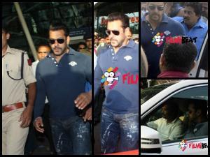 Pics: Salman Returns To Mumbai For Hit And Run Case Verdict