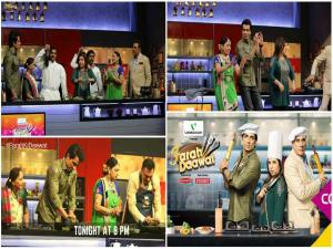 MATSHi's Amba-Baa With Boman-Sonu On Farah Ki Daawat