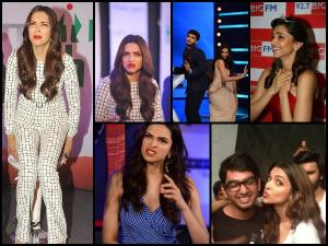 Cute Pics Of Deepika Padukone Making Funny & Weird Faces