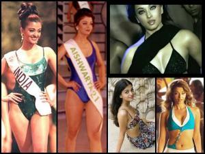 Bikini Day: Hot Pics Of Aishwarya Rai Bachchan In Bikini