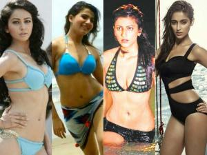 BIKINI DAY: Tollywood Actresses Posing Hot In Bikini