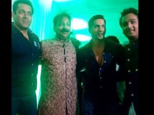 Salman At Baba Siddiqui's Iftar Party; Media Boycotts Event