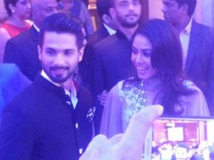Exclusive Pics: Shahid Kapoor-Mira Rajput Dinner Party