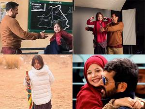 BB: Behind The Scenes Pictures of Cute Munni Aka Harshaali