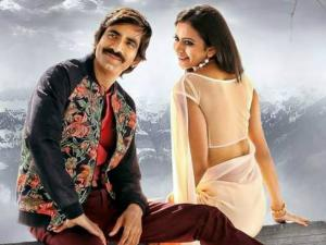 Rakul Talks About Lip Kiss With Ravi Teja