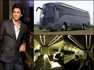 Inside Pics Of Shahrukh's New Vanity Van Worth Rs 4 Crore!
