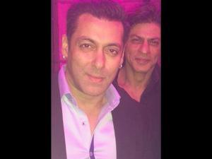 When Shahrukh Said To Salman,
