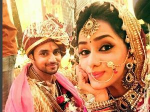 MATSH: Ritika-RV 3rd Time Bride-Groom Wedding Costume-PICS