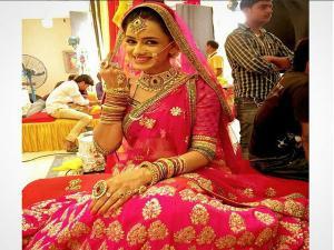 MATSH: Ritika,RV-Third Time Bride-Groom Wedding Costume-PICS