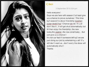 Post Parth, KY2 In Dilemma, Niti Urges Viewers To Watch!