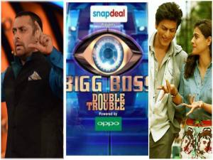 Wow! Shahrukh To Promote Dilwale On Salman's Bigg Boss 9!