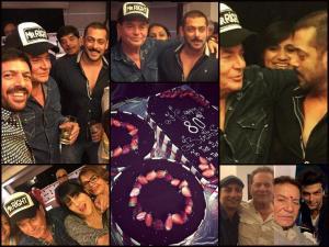 PIX: Salman Celebrates Dad Salim Khan's 80th B'day!