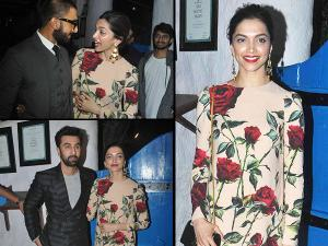 TAMASHA PARTY PICS: Hot Deepika Enjoys With Ranbir & Ranveer
