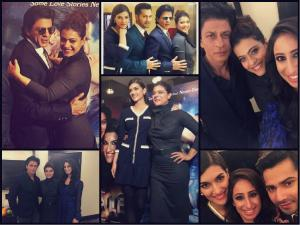 LIVE PICS: SRK Promoting Dilwale In UK, Along With Co-stars!