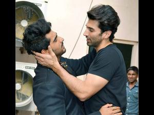 Pics: Bromance Between Arjun Kapoor & Aditya Roy Kapoor!