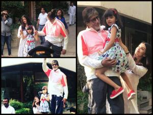 In Pics: Aish & Big B Make Aaradhya's Sunday Special!