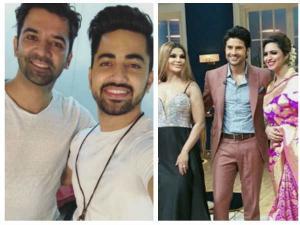 Barun Sobti & Zain Imam Shoot For Rajeev's Show
