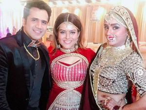 Parul Chauhan Looks The Happiest In Her Reception Pics!