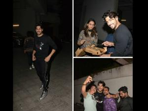 Birthday Boy Sidharth Malhotra Cuts Cake At Midnight! Pics!