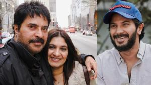 Dulquer Salmaan Wishes Parents Mammootty & Sulfath
