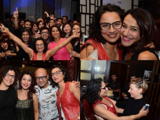 Pics: Farhan Akhtar's Ex-wife Adhuna Parties After Breakup!