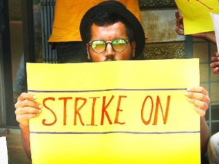 Strike At GFTI Continues, Students Smell Foul Play