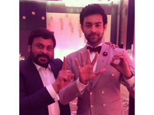 PIC TALK: Varun Tej Posts An Adorable Picture With Chiru