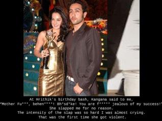 Kangana PHYSICALLY ABUSED Ex-boyfriend Adhyayan Suman!