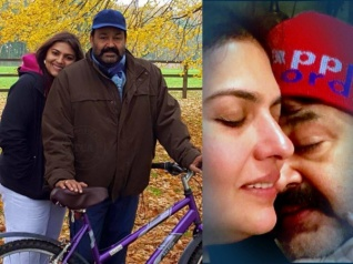 IN PICS: Mohanlal-Suchitra 28th Wedding Anniversary Special