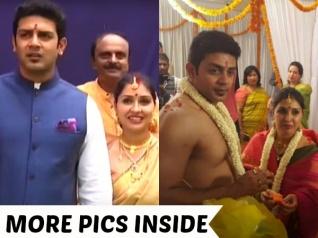 PHOTOS: Actors Raghu Mukherjee & Anu Prabhakar Tied The Knot