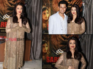 Aish Steals The Limelight At Sarbjit's Success Party (Pics)