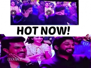 Allu Arjun Goes Teary-eyed Watching Chiranjeevi Dance