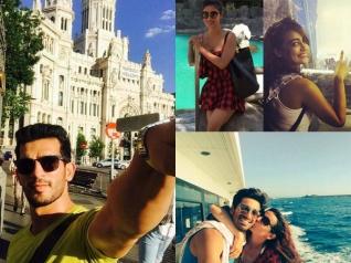 Mouni, Drashti & Others Holidaying Abroad! [PICS]