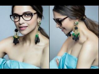 Deepika Padukone's Latest Photoshoot For Vogue Eyewear!