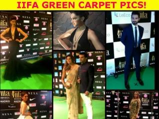 IIFA Rocks Pictures: B-town Celebs Walk The Green Carpet!