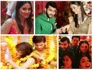 YRKKH Actors Sizzle At Yash-Rose Engagement Ceremony [PICS]