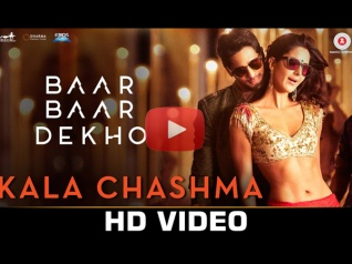 Kaala Chasma Song From Baar Baar Dekho Is Fast & Peppy!