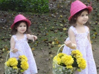 Harshaali's FIRST Photo Shoot Pic Will Make You Go Awww!
