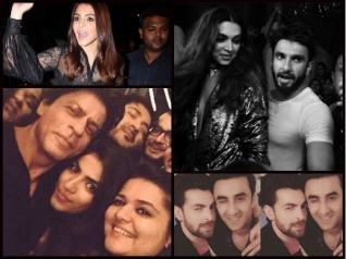 Inside Pics: SRK, Deepika, Ranveer & Others At A B'day Bash!