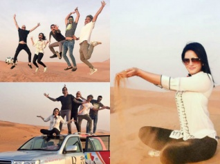 Cool Pictures! Sunny Leone & Daniel Weber Holiday In Dubai