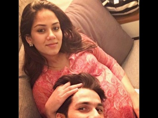 Shahid Shares An Adorable Picture Of Mira & Her Baby Bump